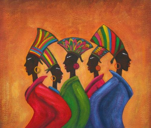 Four South African Ladies