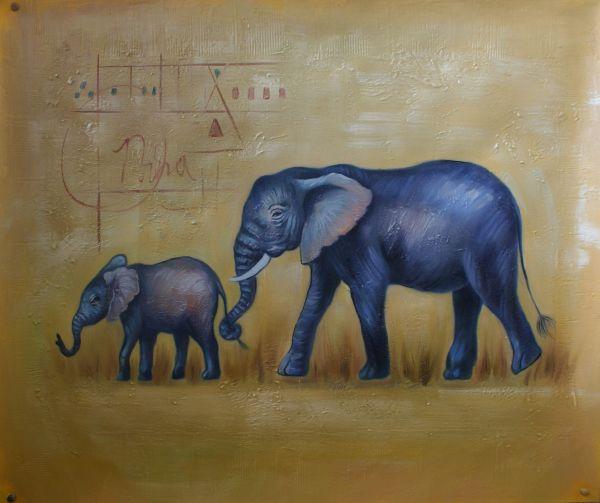 Graceful Elephants
