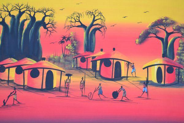 Sunset at the Village