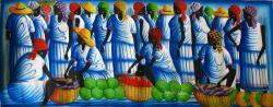 La Femme, le marché et le bleu, Reginald La Fleur