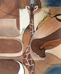 Giraffe Disguised