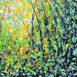 GROOVE, Konney Odamtten 2016, 76 cm * 100 cm Acryl auf Leinwand, ungerahmt, nicht aufgezogen